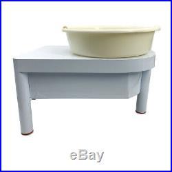 Electric Pottery Wheel Ceramic Machine 25cm Work Clay Art Craft DIY Machine