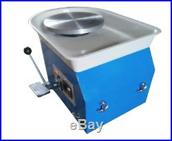 Electric Pottery Wheel Machine Ceramic Work Clay Art Craft Tool 25CM 350W