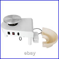 Electric Pottery Wheel Machine DIY Ceramic Work Clay Art Craft Machine 110V 250W