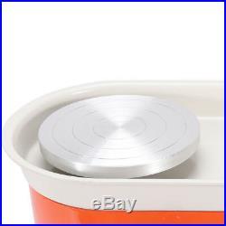 Electric Pottery Wheel Machine For Ceramic Work Clay Art Craft 25CM 350W