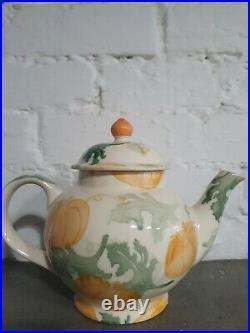 Emma Bridgewater Pumpkin Teapot Halloween