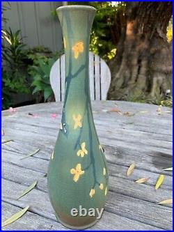 Ephraim Pottery Experimental Chickadee Vase