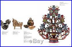 Frida Kahlo Catrina day of the dead ceramic cactus dog folk art Alfonso Castillo