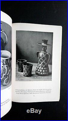 German Design in Pictures 1937 Bauhaus Modernist Ceramics Pottery Applied Arts
