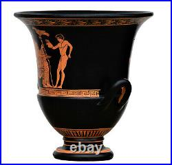 God Zeus and Ganymedes Vase Homosexual Love Ancient Greek Pottery Ceramic