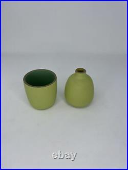 Heath Ceramics Lemongrass Bud Vase and Flower Pot