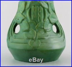 Höganäs Art Nouveau Ceramic Vase