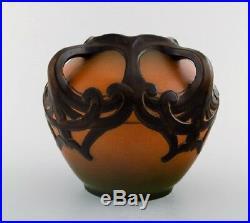 Ipsen's, Denmark. Art Nouveau ceramic vase