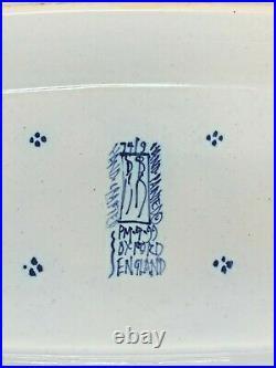 Isis Ceramics Deborah Sears Monkey Collection pattern blue large tureen