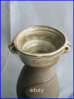 Janet Leach St Ives studio pottery vase