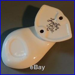 Jonathan Adler Art Pottery Ceramic Tongue Mouth Lips Spoon Rest Wall Décor