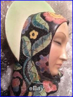 Lenci style Madonna by Igni 1930's Mater Dullis Art Deco Stunning! Torino Italy