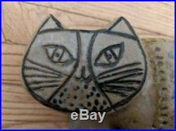 Lisa Larson CAT Gustavsberg 1957 Stoneware Ceramic KATT Large Zoo Figurine Art