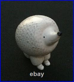 Lisa Larson Gustavsberg White Poodle Dog 60's Vintage Mid Century dog Figurine