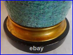 MID Century Modern Marbro Pottery Ceramic Sweden Upsala Ekeby Scandinavian Lamp