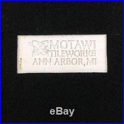 MOTAWI TILEWORKS Oak Framed 8 Ceramic BIRDS Wall Art Tile Ann Arbor Michigan