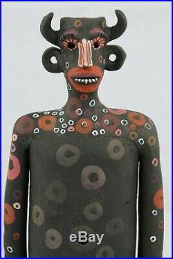Male Ceramic Sculpture Mexican Fine Art New Pottery Signed Jose Ayala Sotelo #1