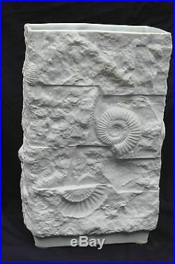 Manfred Frey for Kaiser Midcentury Fossil Vase Pop Art Pottery