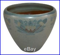 Marblehead Pottery Arts and Crafts Decorated Three Color Ceramic Vase