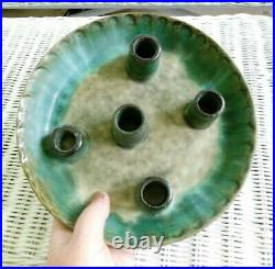 McCarty's Pottery Jade Candle Plate