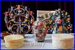 Mexican Devil ceramic folk art Great Master Alfonso Castillo Nativity
