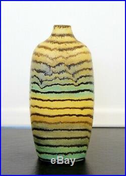 Mid Century Modern Rare Marcello Fantoni Raymor Ceramic Art Vase Italy 1950s