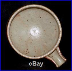 Mint Warren MacKenzie Art Pottery Shino Spouted bowl Shoji Hamada Bernard Leach