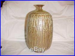 Outstanding 12 Signed Midcentury Studio Art Pottery Vase Prieto-voulkos Era 50s
