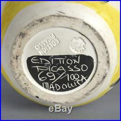 Pablo Picasso Ceramic Madoura Pottery Bull Taureau Ramie 255