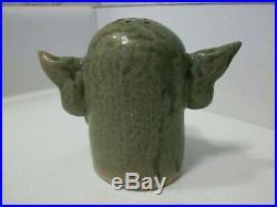 Phelps Art Pottery Monster Mash Halloween Devil Figures Salt And Pepper Shakers