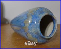 Pierrefonds Art Pottery Vase Crystalline Glaze MINT