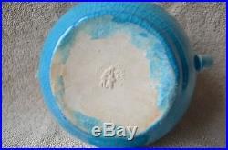 Pisgah Forest Art Pottery Blue/turquoise Teapot
