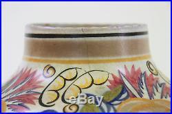 Poole Pottery Vase ANNE HATCHARD Hand Painted Art Deco #424