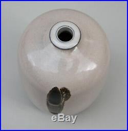 Professor Kap Sun Hwang art pottery Vase ceramic glaze Studio Keramik