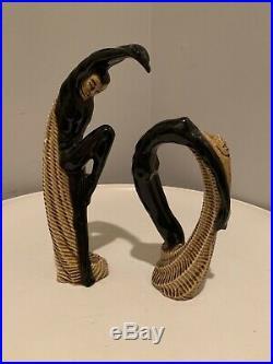 RARE Ceramic Arts Studio Dorothy Harrington Aphrodite & Adonis Ceramic Figurines