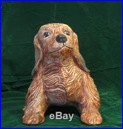 RARE Weller Art Pottery Terrier Dog