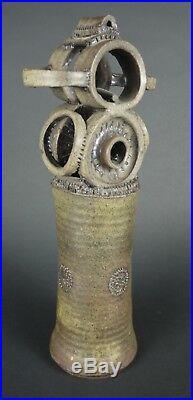 Radical Mid CENTURY Modern ABSTRACT CERAMIC Studio BRUTAL Art Pottery SCULPTURE