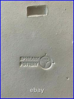 Rare Ephraim Faience Pottery Starry Night Art Tile #390/ 6x6 Mint Condition