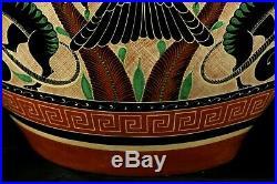 Rare Lg Vintage Mexican Ceramic Jar Fine Folk Art Museum Quality Geronimo Ramos