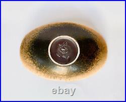 Rörstrand / Rorstrand Gunnar Nylund Brown Bowl ARF