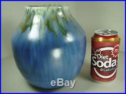 Roseville MINT Art Pottery Imperial II VIBRANT GLAZES 472 Vase Blue-Gold-Gray