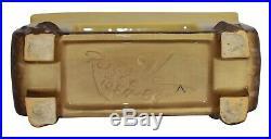 Roseville Pottery Artwood Yellow Art Deco Ceramic Planter 1054-8