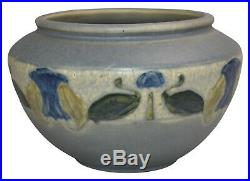 Roseville Pottery Victorian Art Gray Arts and Crafts Ceramic Bowl 132-4
