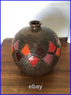 Round Bitossi Pottery Vase Italian Ceramic Raymor Rosenthal Netter