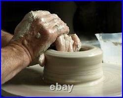 Russell Akerman Ceramic Art Studio Pottery Abstract Slipware Vase