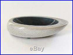 Russell Wright Bauer Oblong Ceramic Bowl, (1940's from the Art Pottery Line)