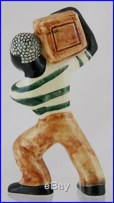Shearwater 6.5 Folk Art Man With A Box 1992 Walter Inglis Anderson Design Mint