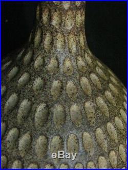Signed JD JOSEPH DAVID BROUDO Beautiful Original Stoneware Art Handmade Vase