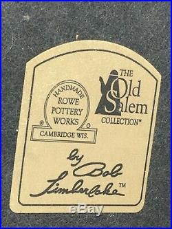 Squirrel Lamp Rowe Pottery Works Ceramic Art Old Salem Bob Limberlake Vintage
