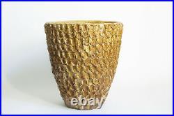 Stan Bitters Thumb Pot Ceramic Planter Hans Sumpf Studio Pottery Architectural